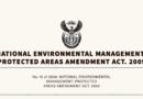 No. 15 of 2009: NEMPA: Protected Areas Amendment Act, 2009.