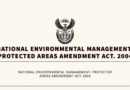 NEMPA: Protected Areas Amendment ACT. 2004